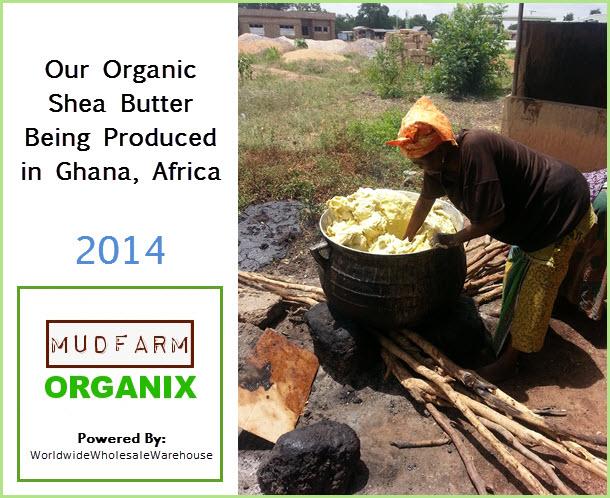 Canada Organic Shea Butter
